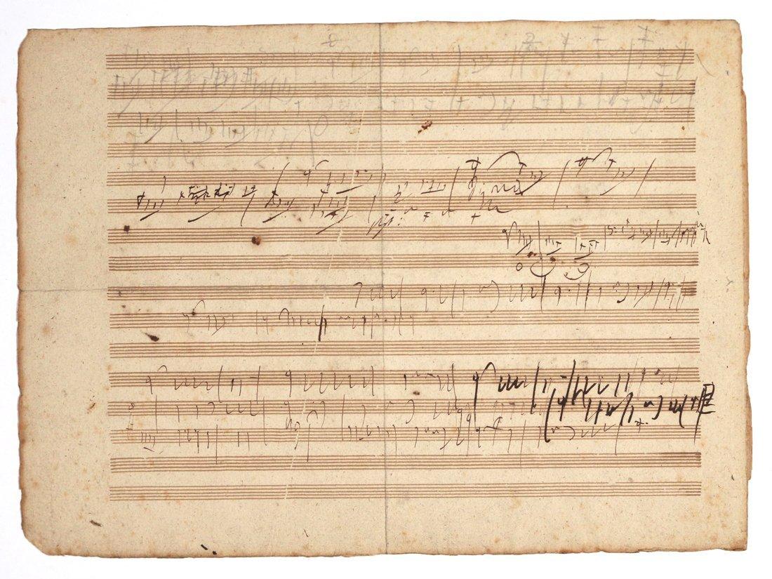 (2pc) BEETHOVEN, LUDWIG VAN (1770-1827) - 7