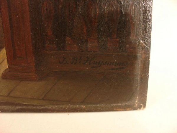 398:   JAN (JEAN) BAPTIST HUYSMANS (1826-1906,  BELGIUM