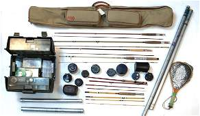 LARGE LOT MOSTLY ORVIS FLY FISHING EQUIPMENT