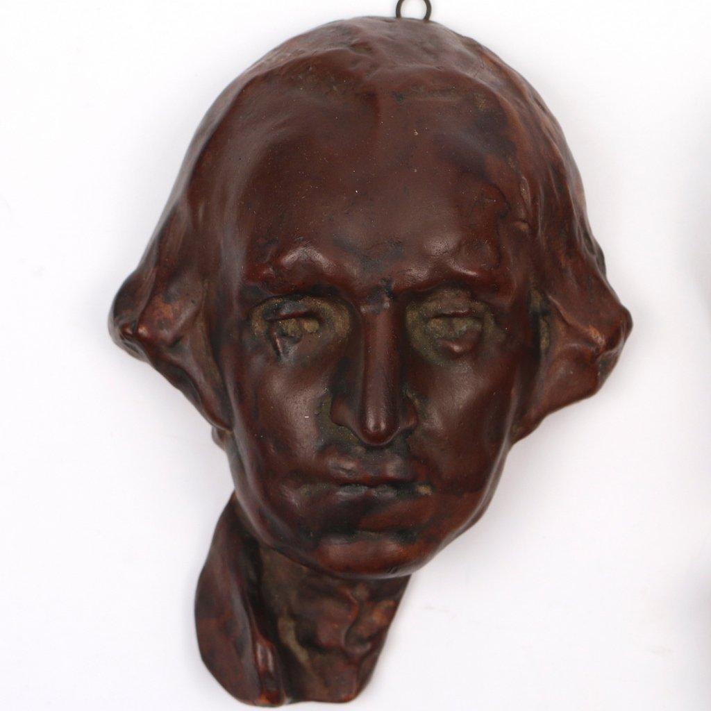 (3pc) GUTZON BORGLUM (American, 1867-1941) - 3
