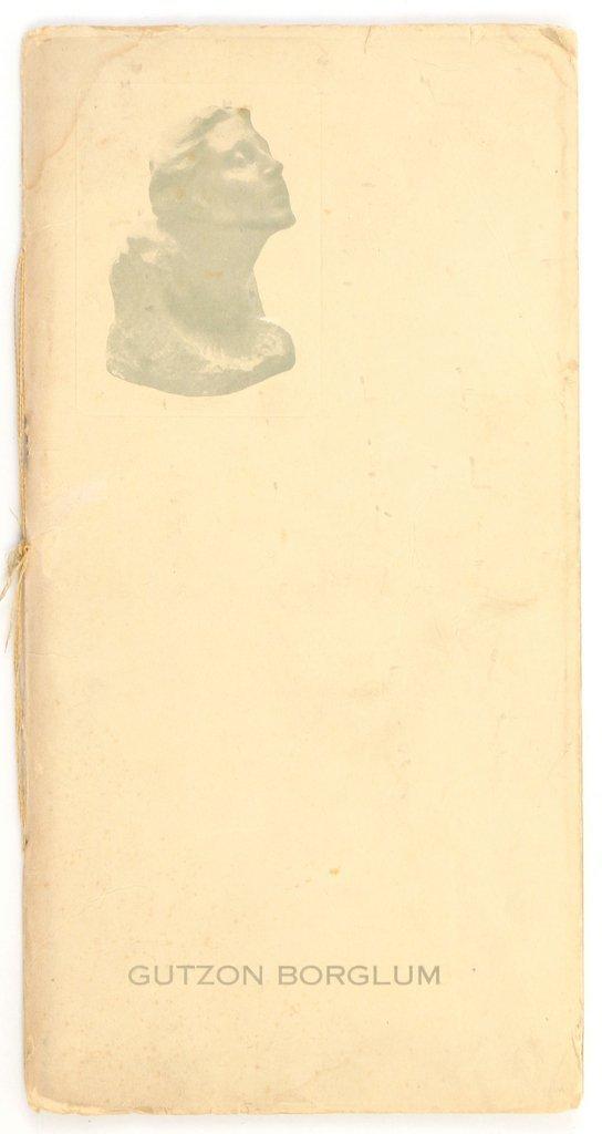 (3pc) GUTZON BORGLUM (American, 1867-1941) - 7