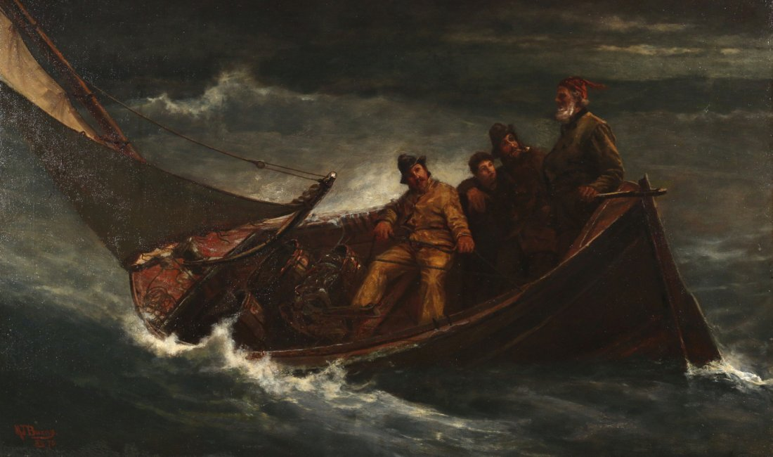MILTON JAMES BURNS (American, 1853-1933) - 2
