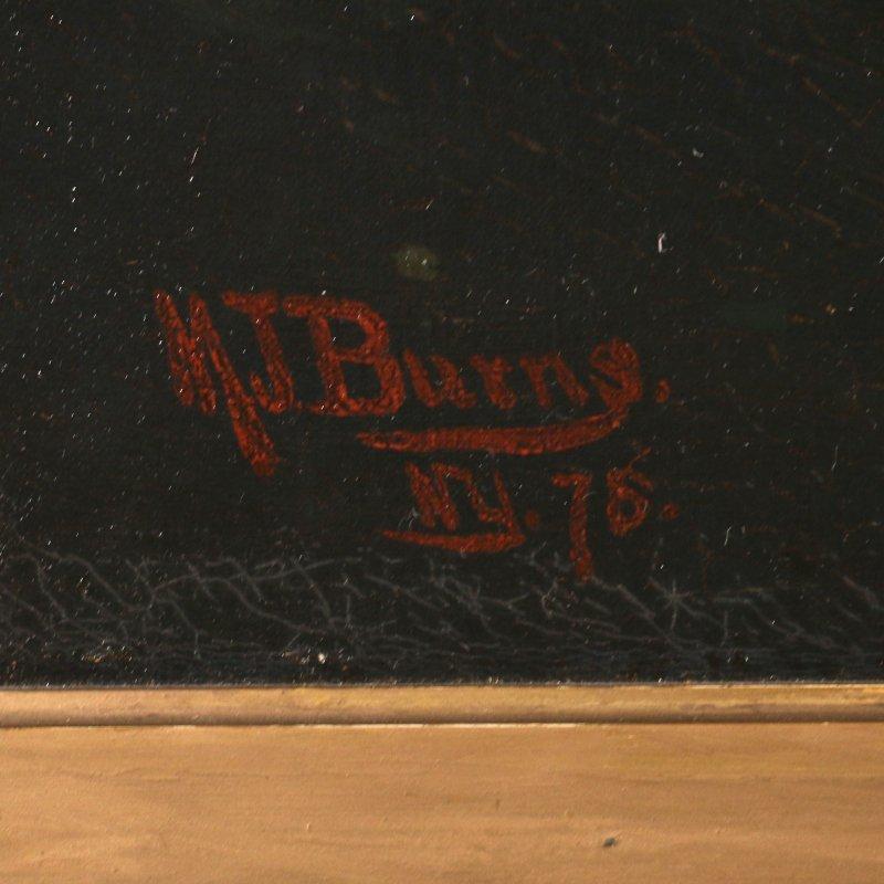 MILTON JAMES BURNS (American, 1853-1933) - 3