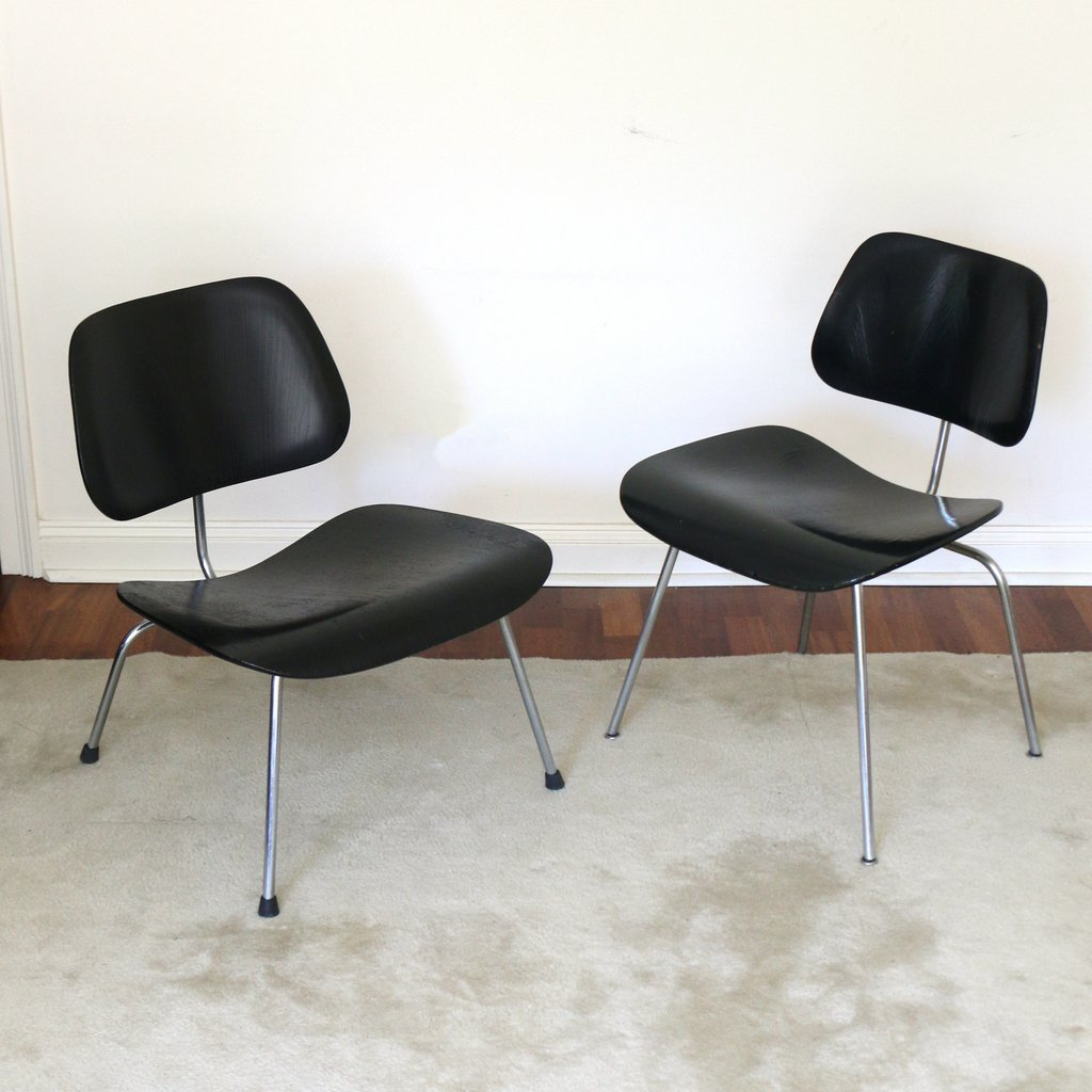 (2pc) MISC. EAMES / HERMAN MILLER CHAIRS