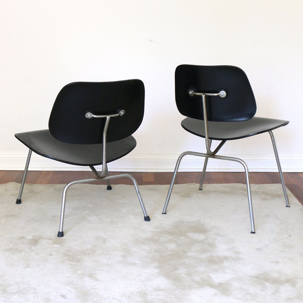 (2pc) MISC. EAMES / HERMAN MILLER CHAIRS - 2