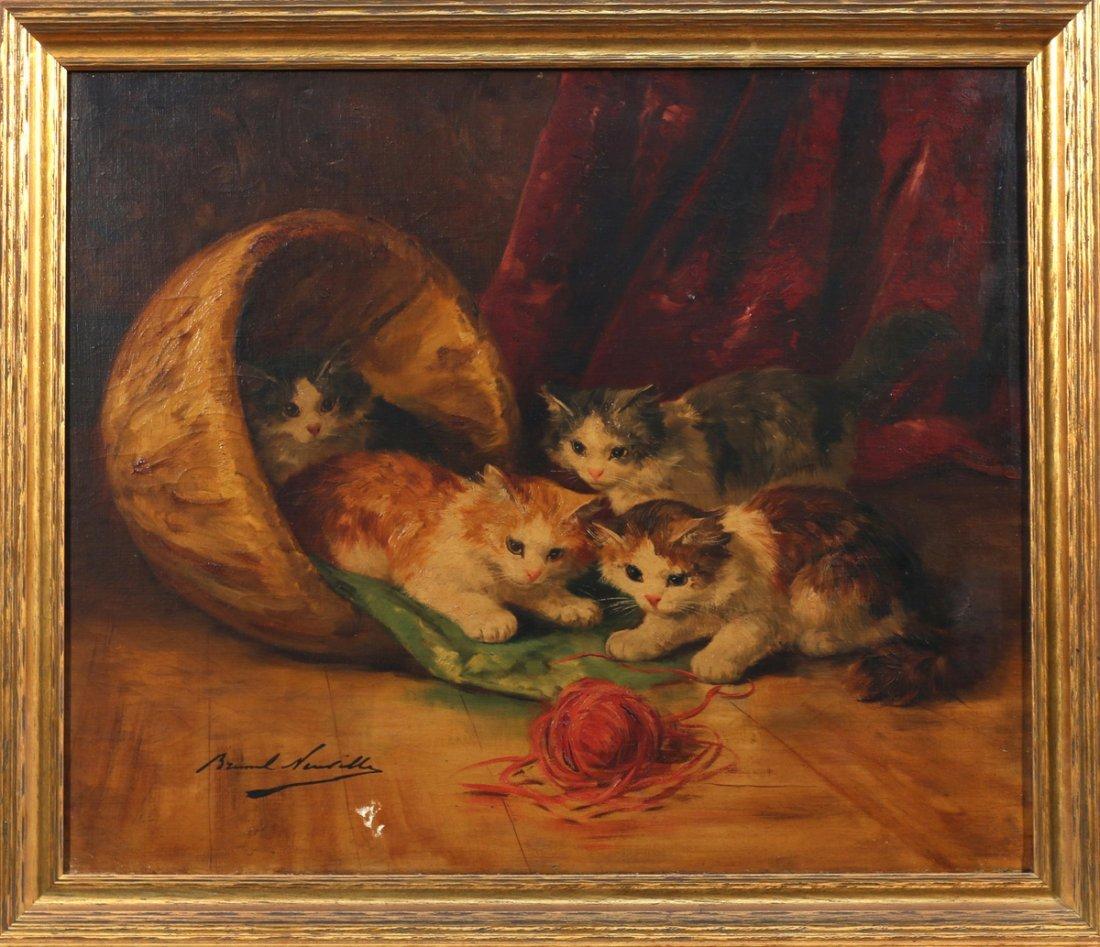 ALFRED ARTHUR BRUNEL DE NEUVILLE (Fr., 1852-1941)