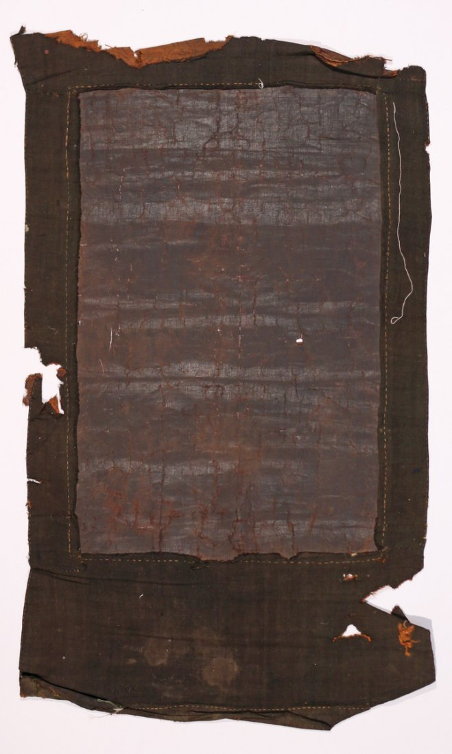 EARLY SINO-TIBETAN BLACK-GROUND THANGKA - 6