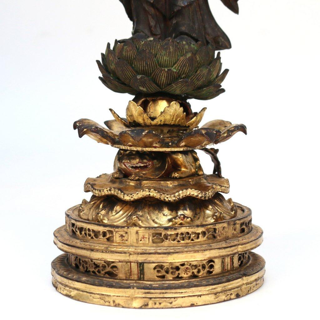 JAPANESE LACQUERED TRAVELING BUDDHIST SHRINE - 7