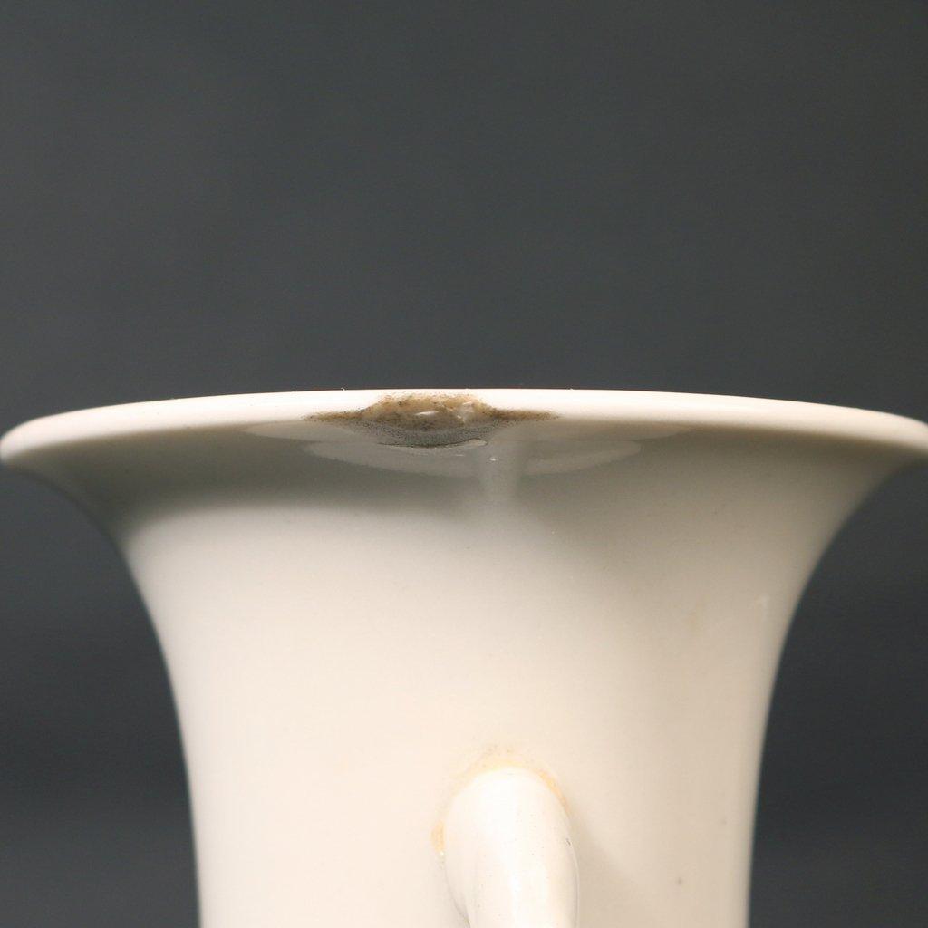 CHINESE DEHUA PORCELAIN BALUSTER VASE - 4