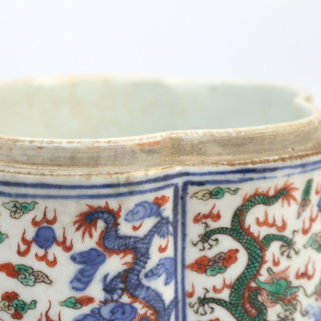 CHINESE WUCAI PORCELAIN FOOD BOX - 3