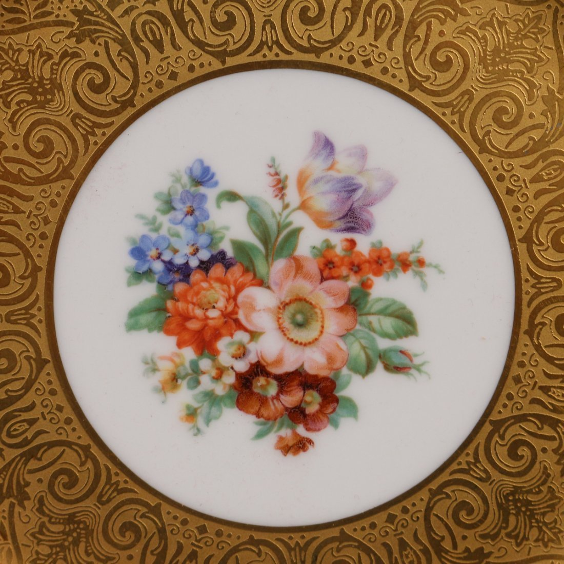 (12pc) ROYAL BAVARIAN SERVICE PLATES - 2