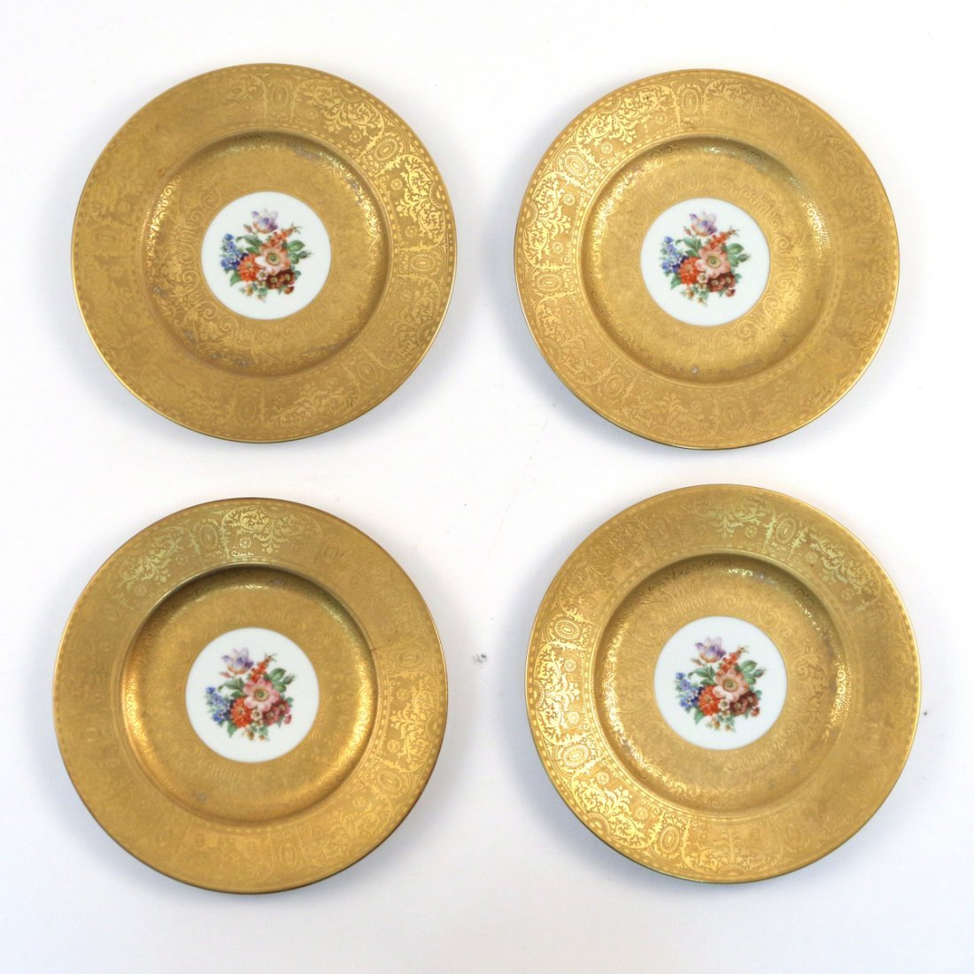 (12pc) ROYAL BAVARIAN SERVICE PLATES - 6