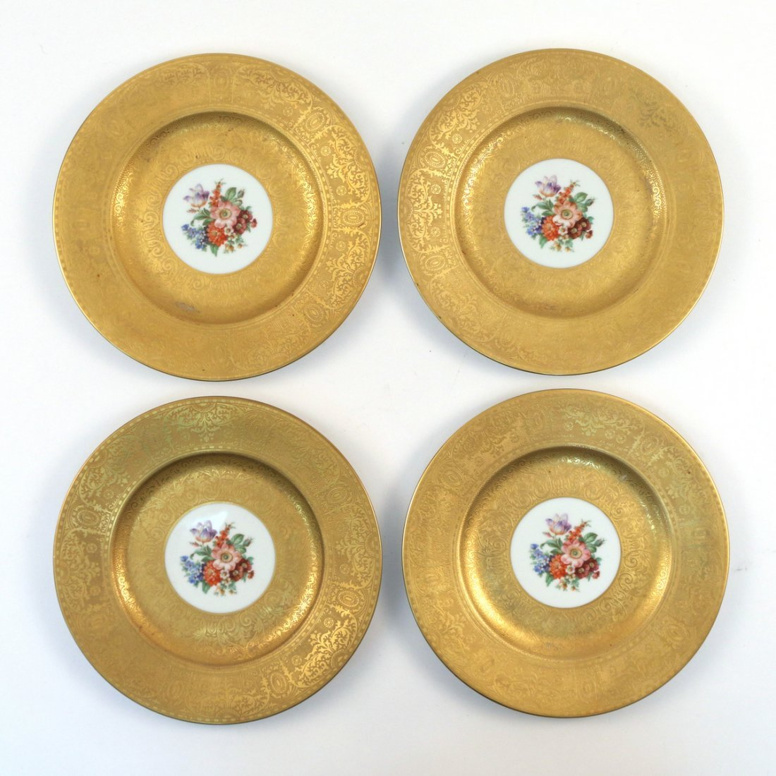 (12pc) ROYAL BAVARIAN SERVICE PLATES - 8