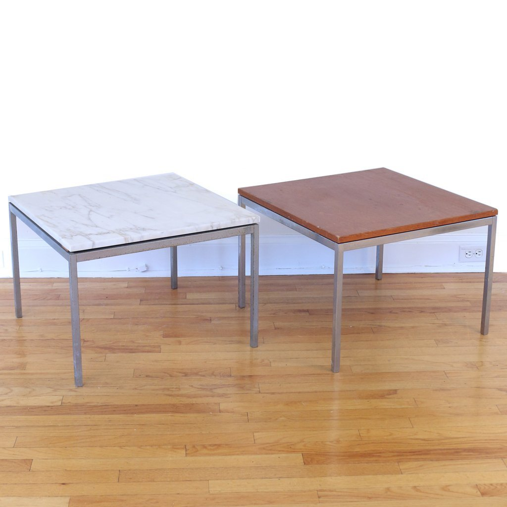 (3pc) FLORENCE KNOLL OCCASIONAL TABLES
