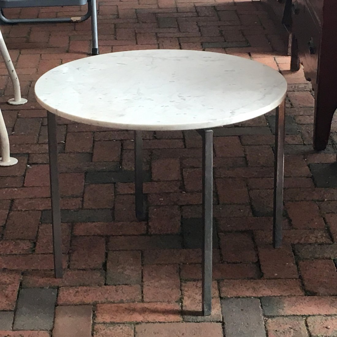 (3pc) FLORENCE KNOLL OCCASIONAL TABLES - 4