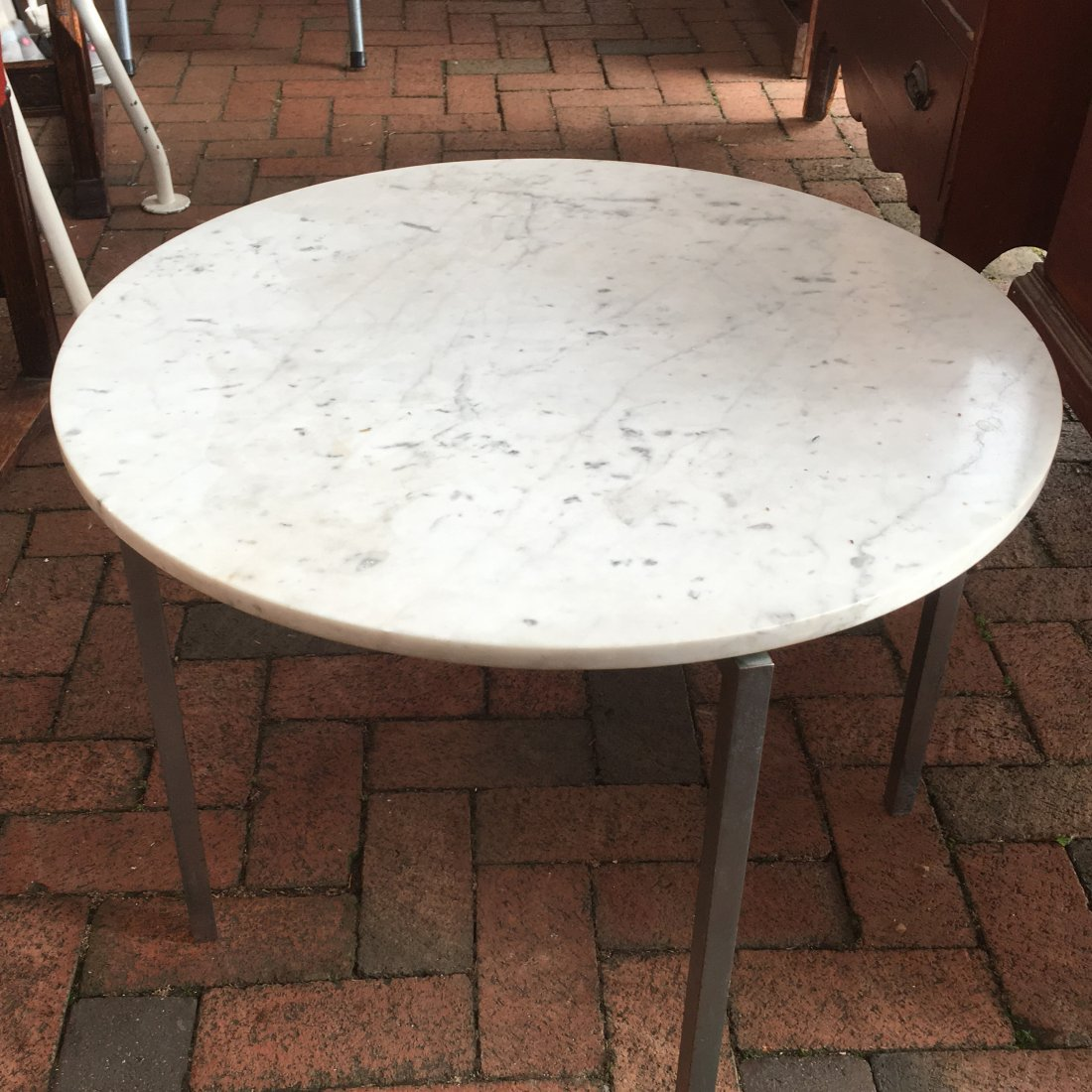 (3pc) FLORENCE KNOLL OCCASIONAL TABLES - 5