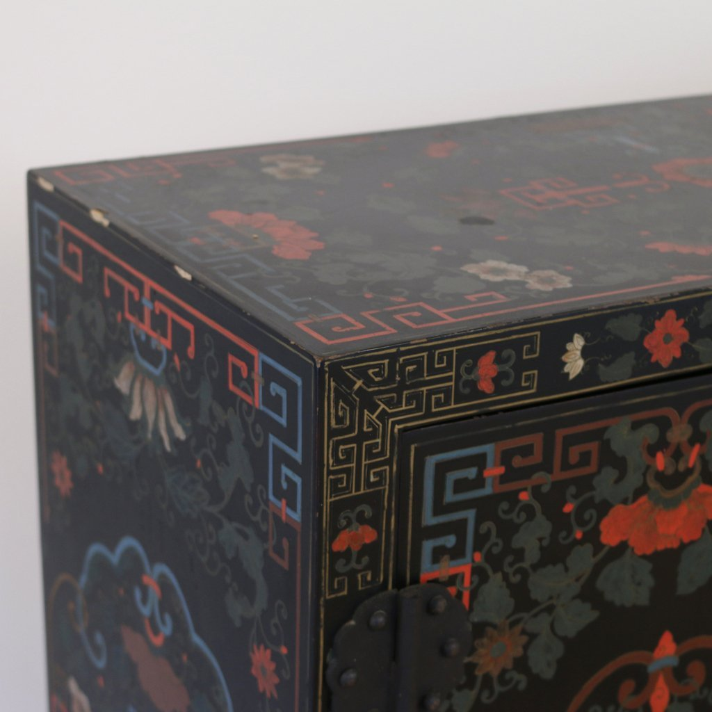 CONTEMPORARY CHINESE POLYCHROME CABINET - 2