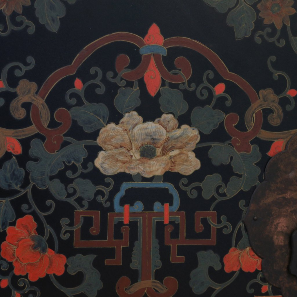CONTEMPORARY CHINESE POLYCHROME CABINET - 3