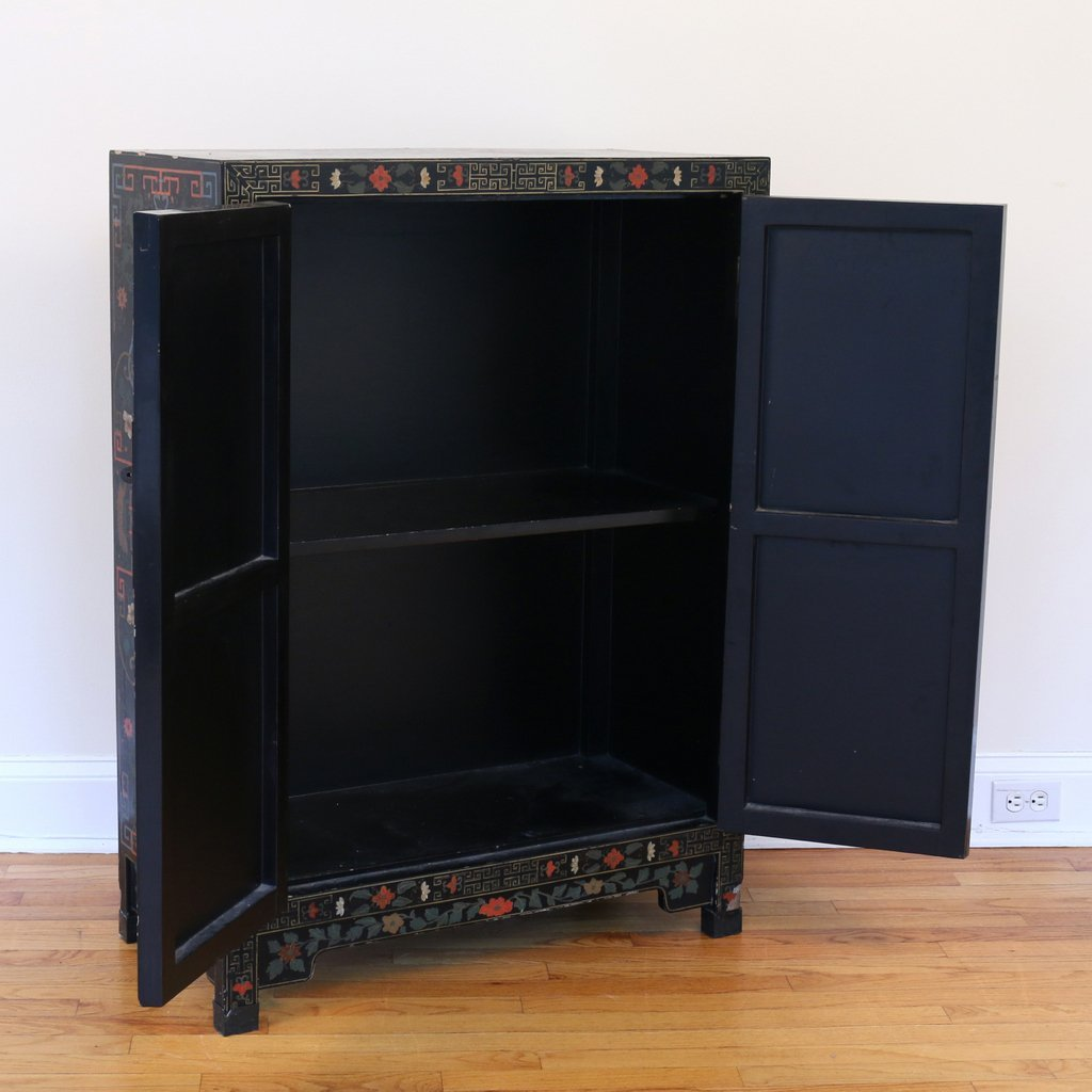 CONTEMPORARY CHINESE POLYCHROME CABINET - 6