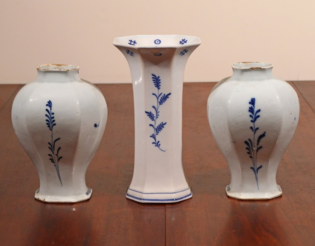 (3pc) DELFT TIN GLAZED CERAMICS - 2