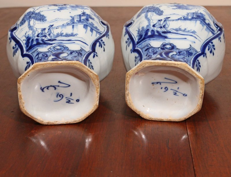 (3pc) DELFT TIN GLAZED CERAMICS - 5