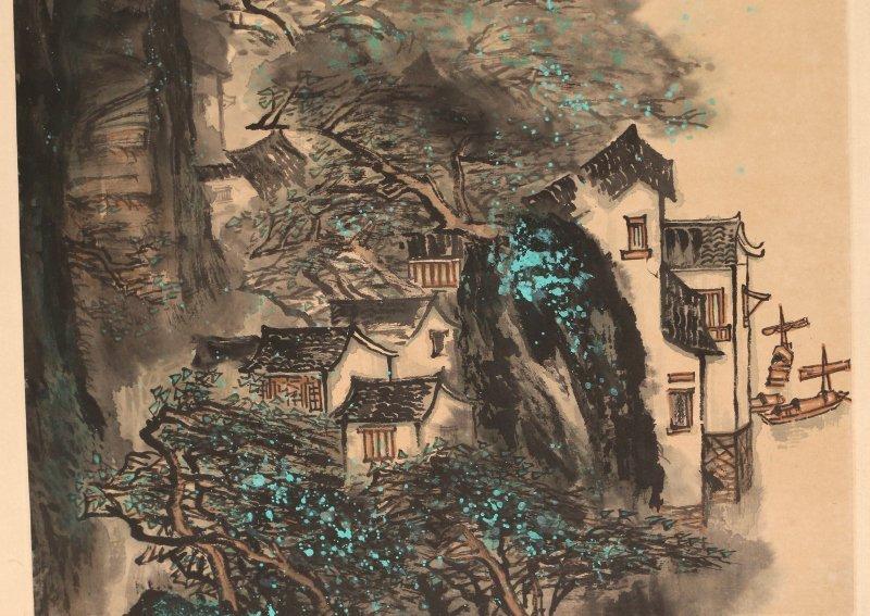 (2pc) HU XUWEN (Chinese, 1960-) HANGING SCROLLS - 6