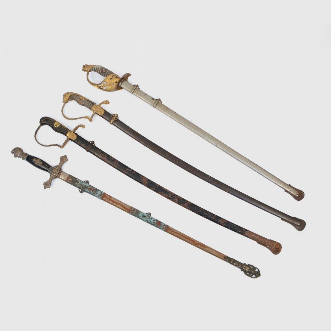 (4pc) DRESS SWORDS - 2