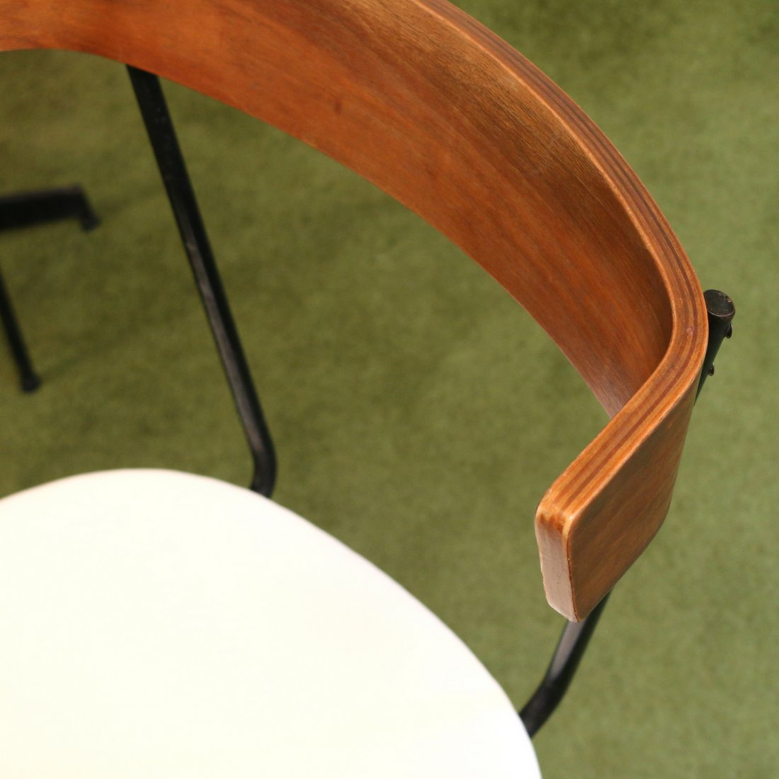 (6pc) MID CENTURY DINETTE TABLE & CHAIRS - 6