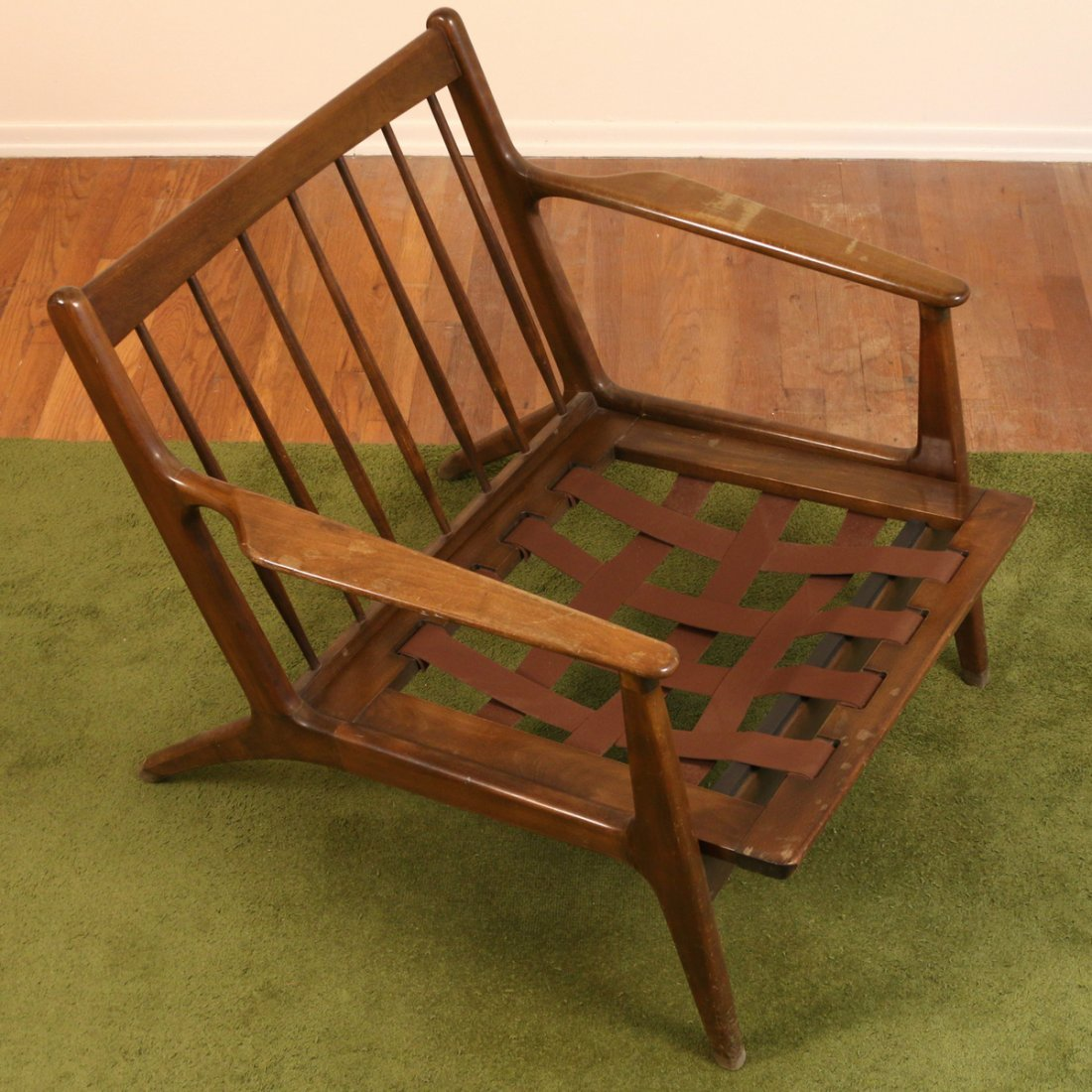 DANISH WALNUT LOUNGE CHAIR - 3