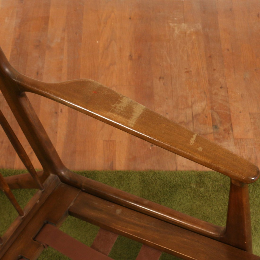 DANISH WALNUT LOUNGE CHAIR - 4
