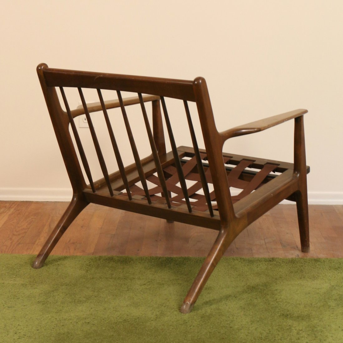 DANISH WALNUT LOUNGE CHAIR - 6