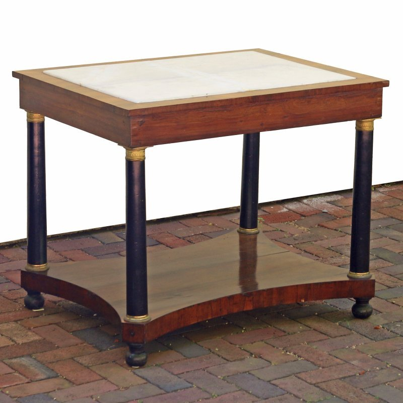LOUIS PHILIPPE INLAID SIDE TABLE