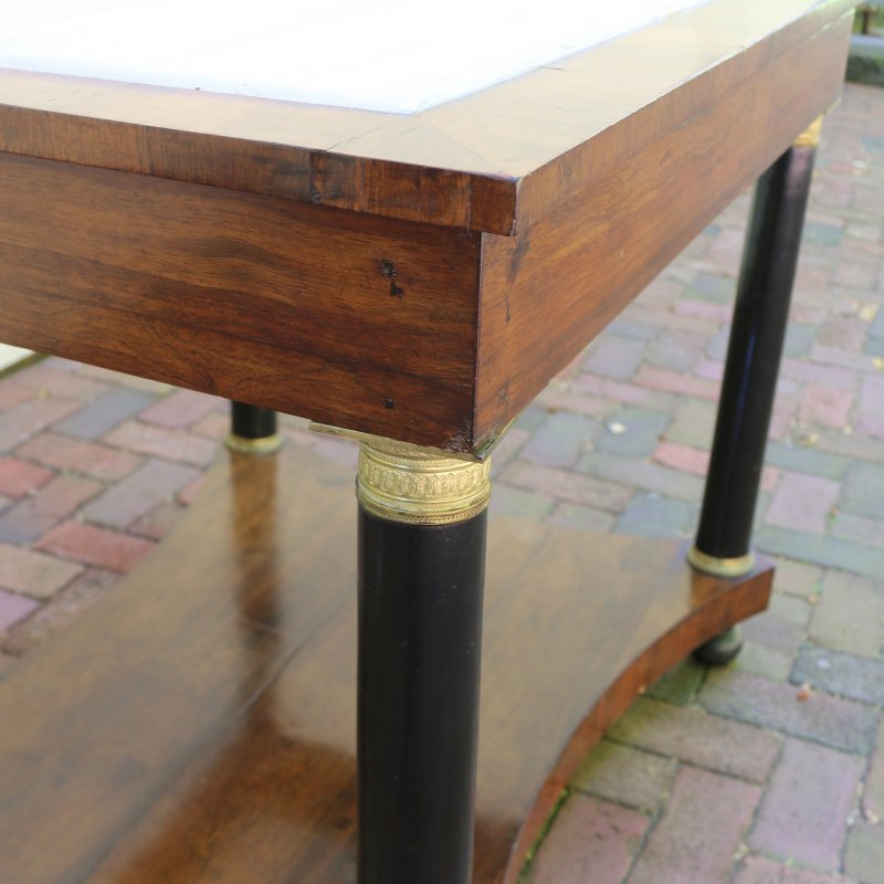LOUIS PHILIPPE INLAID SIDE TABLE - 5