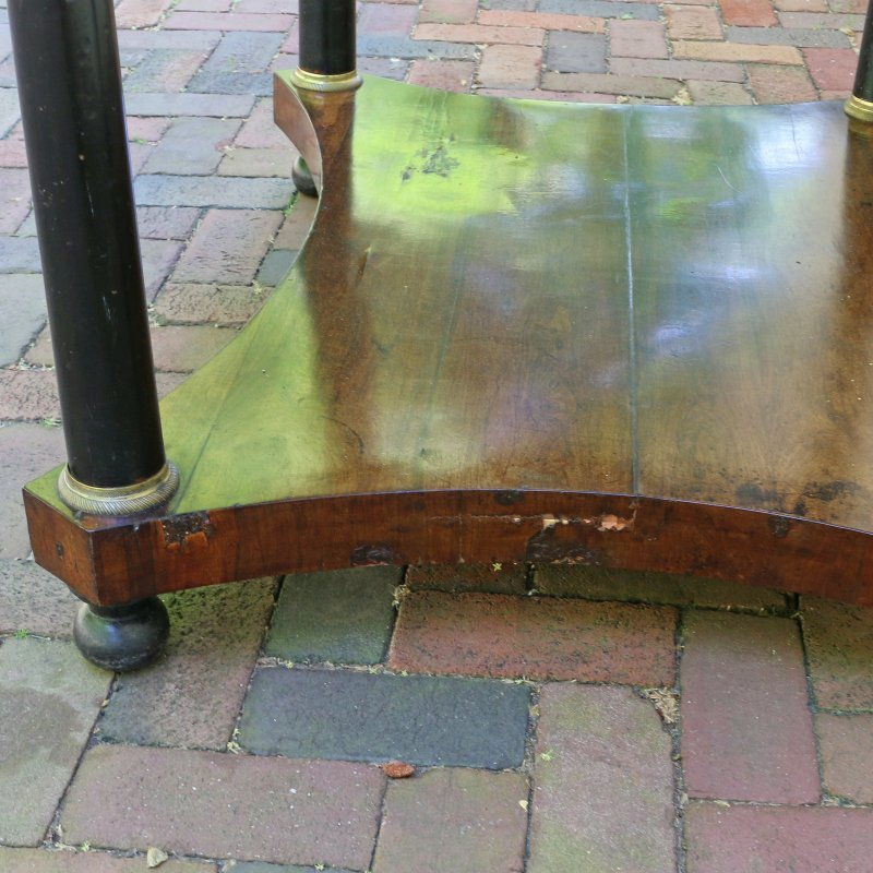LOUIS PHILIPPE INLAID SIDE TABLE - 6