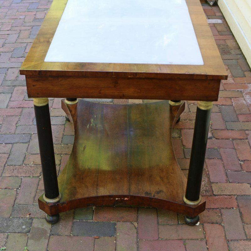 LOUIS PHILIPPE INLAID SIDE TABLE - 7