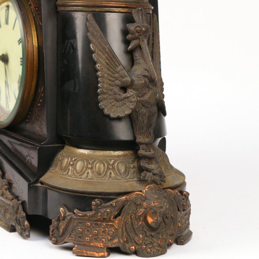ANSONIA MANTLE CLOCK - 2