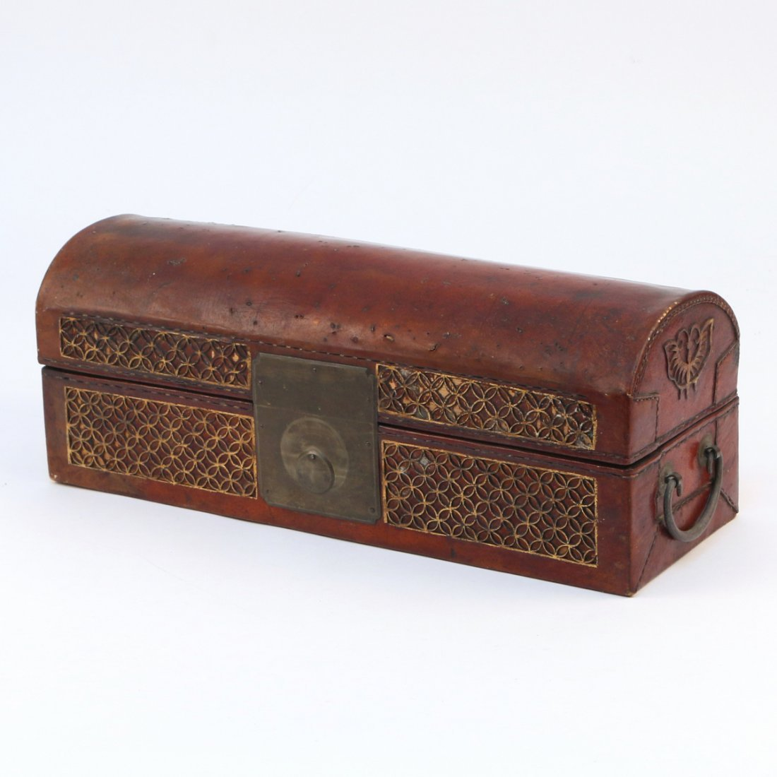 CHINESE LEATHER BOX