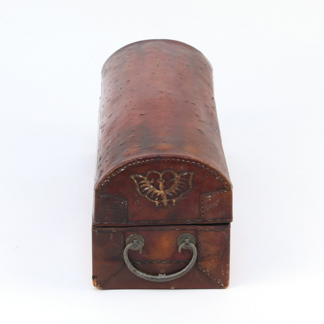 CHINESE LEATHER BOX - 3