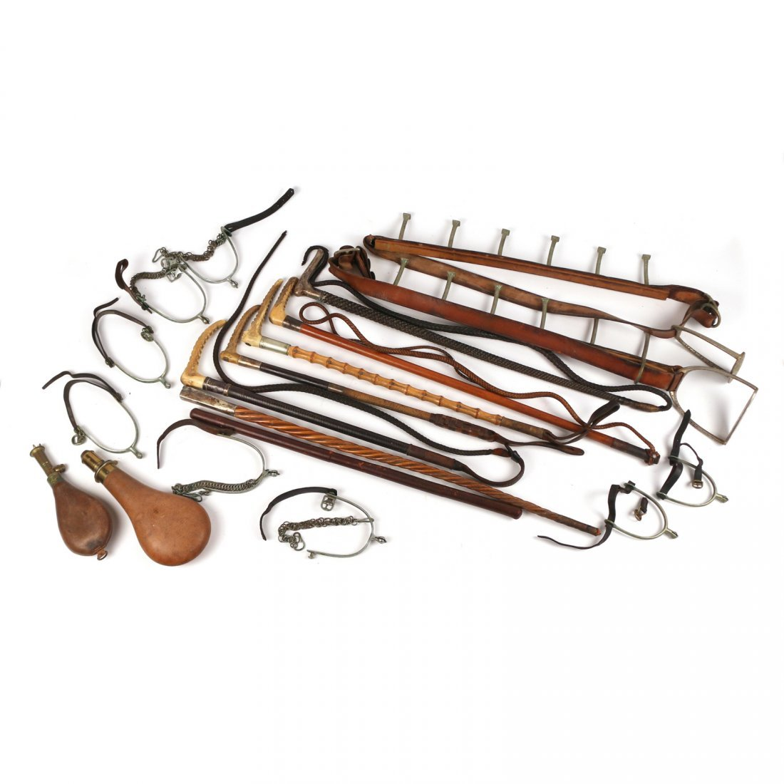 (18pc) EQUESTRIAN AND OTHER ITEMS