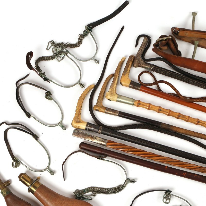 (18pc) EQUESTRIAN AND OTHER ITEMS - 2