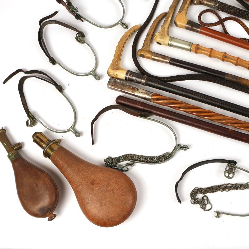 (18pc) EQUESTRIAN AND OTHER ITEMS - 3
