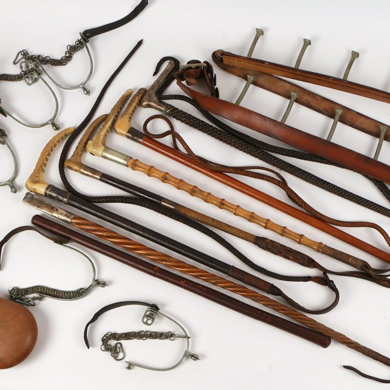 (18pc) EQUESTRIAN AND OTHER ITEMS - 4