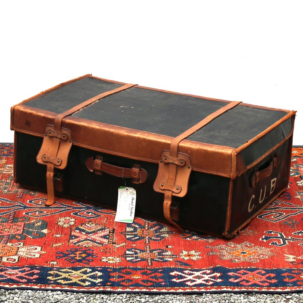 PAUL ROMAND PARIS STEAMER TRUNK & CONTENTS - 9