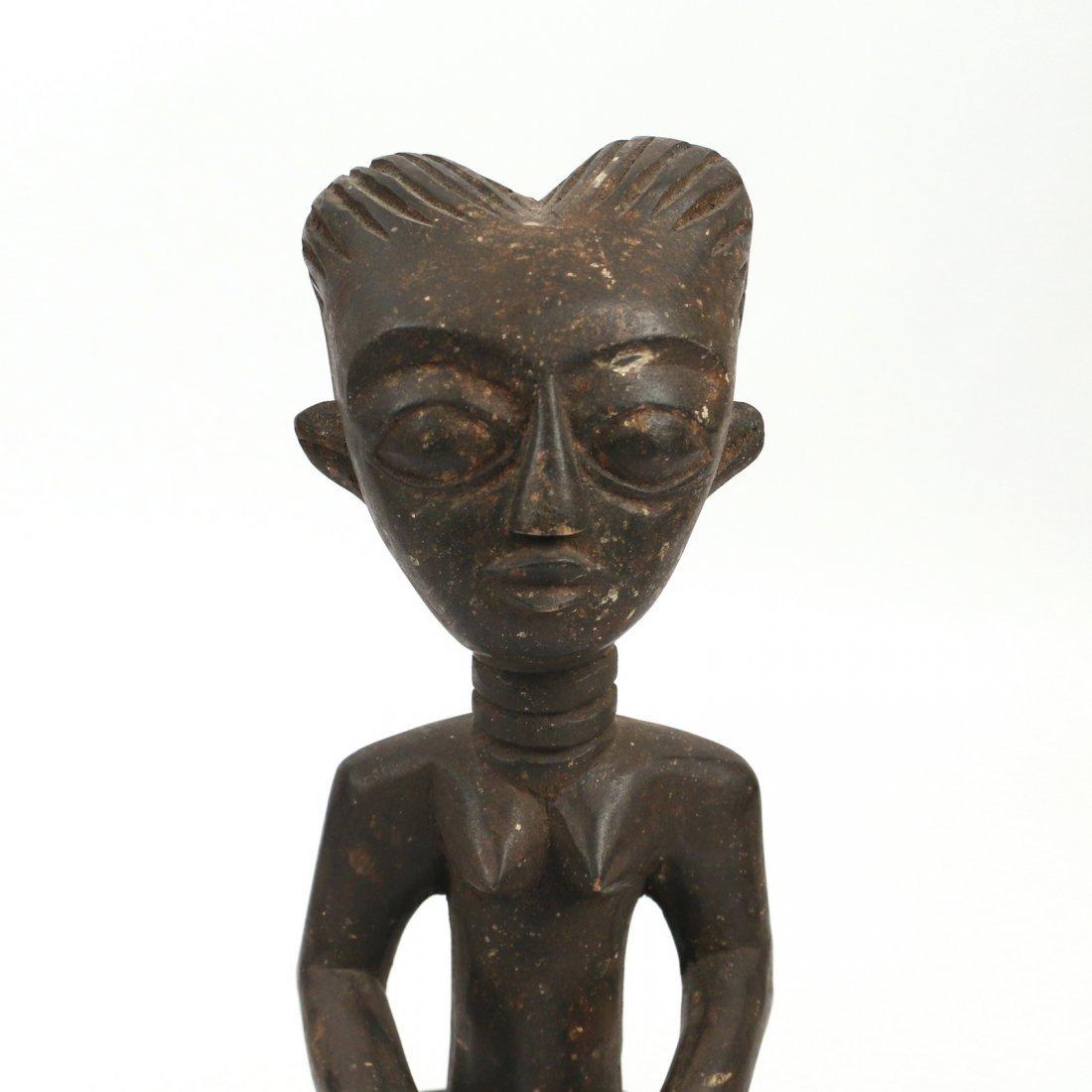 (3pc) AFRICAN ANTIQUE WOODEN SCULPTURE - 6
