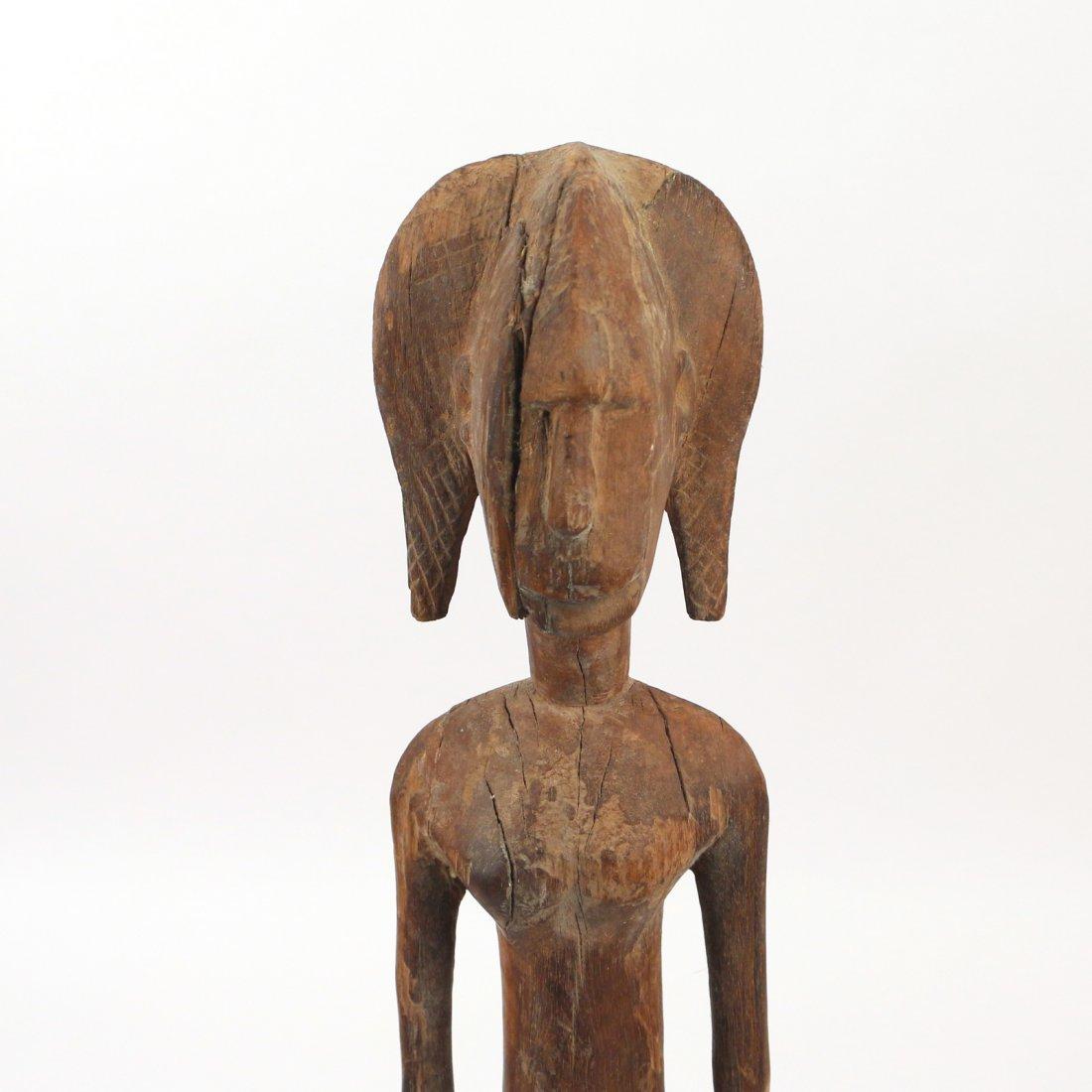 (3pc) AFRICAN ANTIQUE WOODEN SCULPTURE - 7