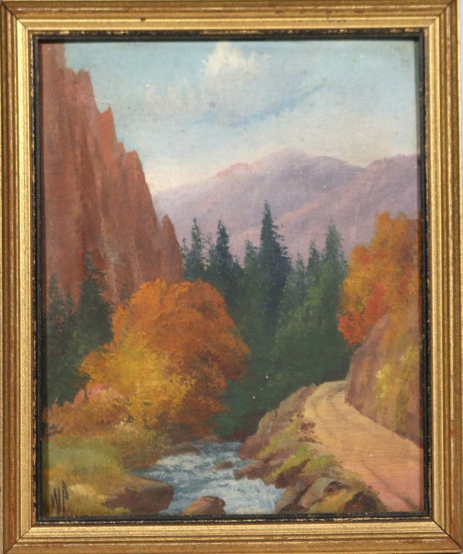 (2pc) WILLARD J. PAGE (American, 1885-1958) - 2