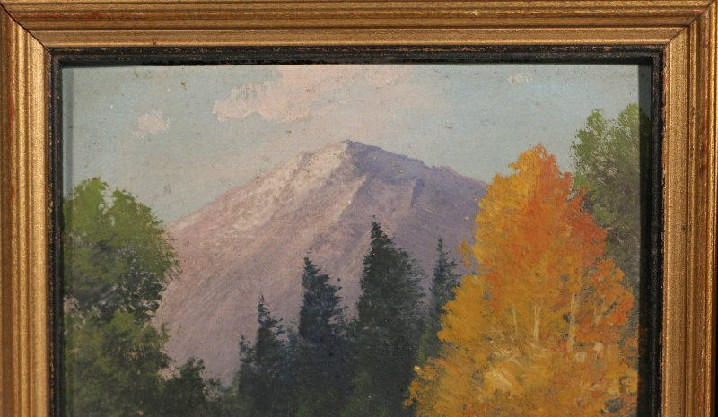 (2pc) WILLARD J. PAGE (American, 1885-1958) - 8