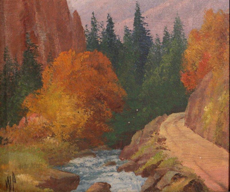 (2pc) WILLARD J. PAGE (American, 1885-1958) - 9