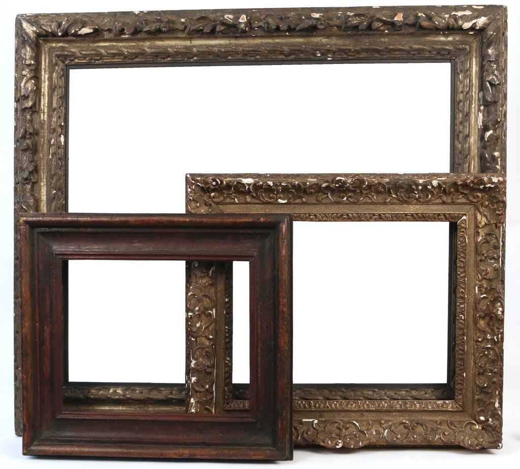 (3pc) FINE CARVED FRAMES