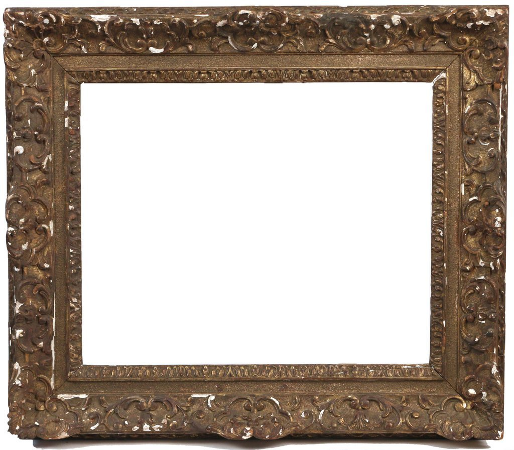 (3pc) FINE CARVED FRAMES - 4